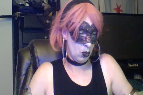 slutty Dancing Goth CD cam Show (part 2 Of 2)