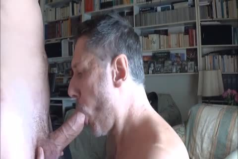 dad Worships Feet And Sucks dick