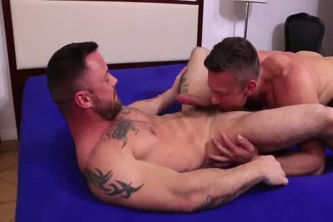 Hard cock Muscle Hunks Flip fuck