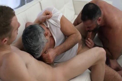 Two Daddies Take bare Advantage Of Their Lad