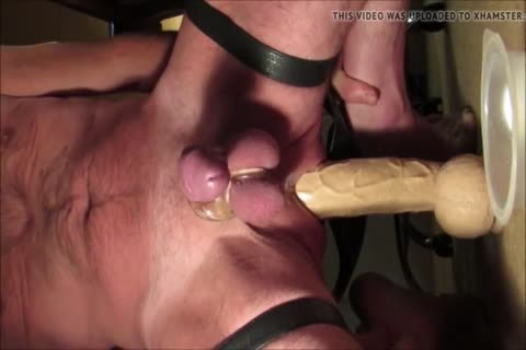 Balls unfathomable 15 Inch cock Rambone Prostate Milking