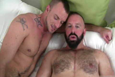 large rod Bear ass invasion And cumshot