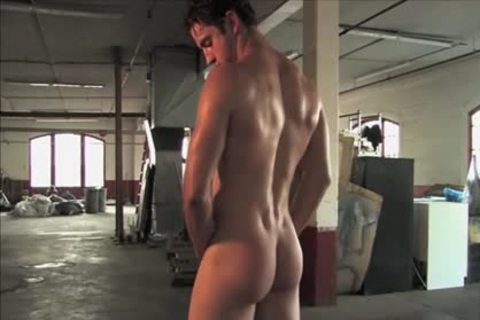 Legend men Gavin Wolfe 01 (Jeremiah Sanchez) - Warehouse jack off Solo