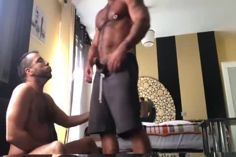 raw pounding His Fan