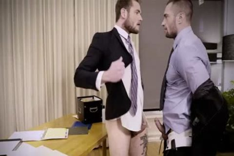 Tattoo homo butthole invasion And Creampie