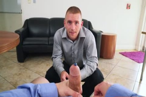 Muscle gay oral stimulation job With Facial