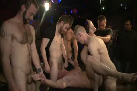 Muscle gay bound And spunk flow