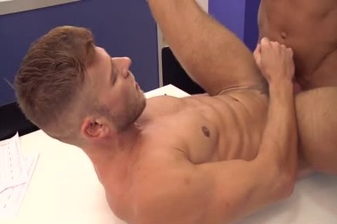 Muscle gay butthole sex And schlong juice flow