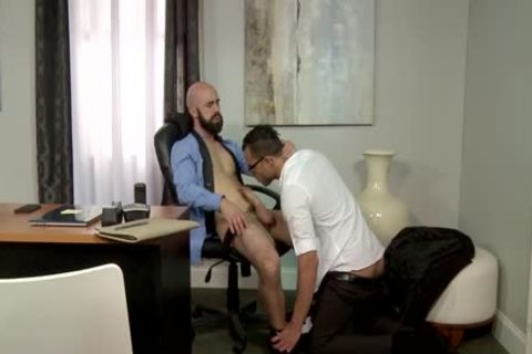 big penis Bear anal job And semen flow