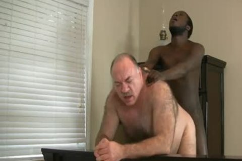 DADDY BEAR ENJOYS WITH dark knob