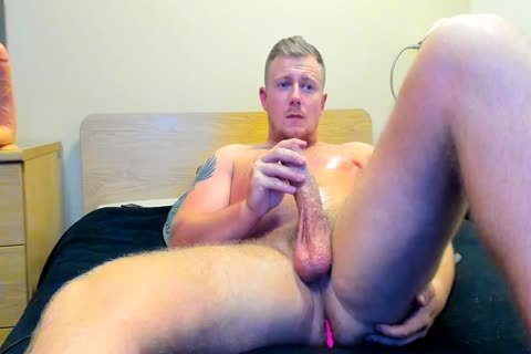 powerful British lad Jerks Off On webcam