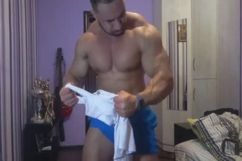 Shirt Ripping Muscle Worship