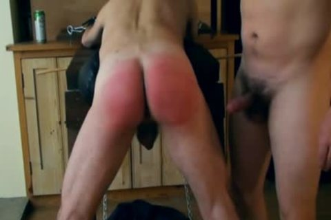Sir Spanks And Canes With A Hard On