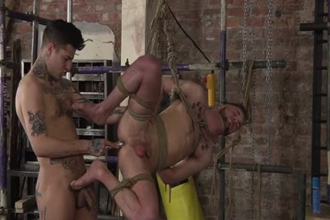 young homosexual Koby Lewis bound And plowed Hard By Mickey Taylor