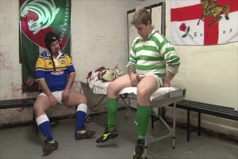 Rugby Bears nailing In Locker Room