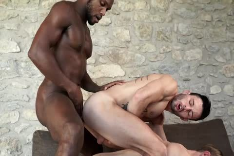 Andre Donovan bonks Christian Haynes And Andy Star