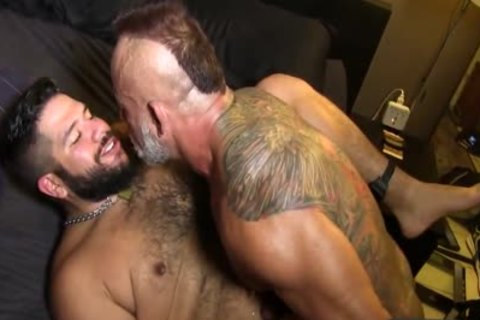 Bo Bangor And Lanz Adams Flip fuck