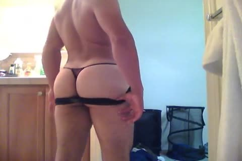 Gay porn in thong