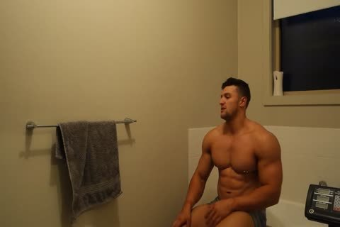 Aussie Muscle chap Showers