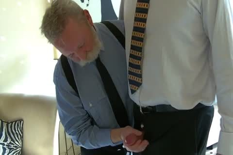 mature Business dudes suck weenie And fuck
