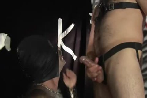 daddy Leather males banging