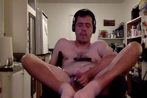 Stripping And Cumming In My Wheelchair