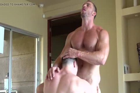 AMAZINGLY str8 FIT knobs HAVE pretty MUSCLE SEX & pound HARD!