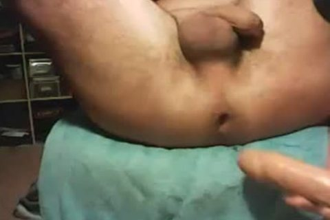 unfathomable fuck gap With dildo
