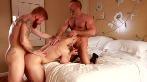 tasty lad - Dirk Caber and John Magnum anal bang