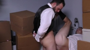 Runaway Groom - Cliff Jensen with Damien Kyle anal dril