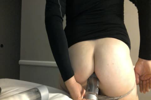 pretty prostitute Stretching His anal