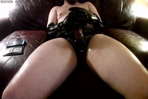 new Elbow Length dark Latex Gloves And panties!!!
