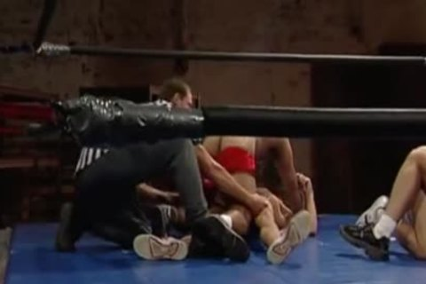 Wrestling orgy Part 1
