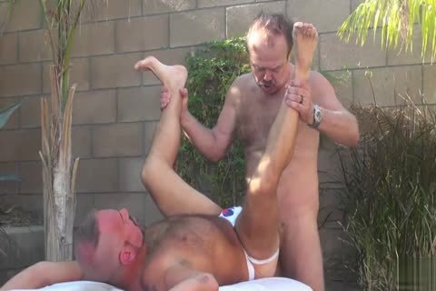 Backyard painfully Two Daddies On chap