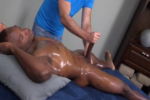 Straight Massage And oral-stimulation
