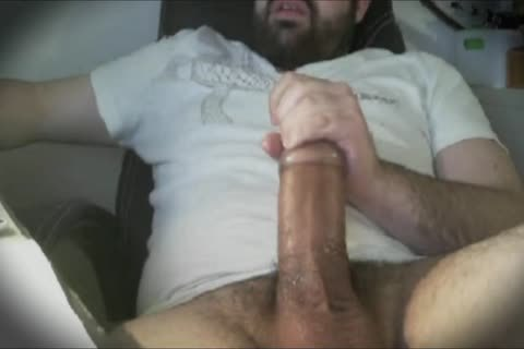 Bear enormous plump knob Hard jack off With Tenga Egg Masturbator