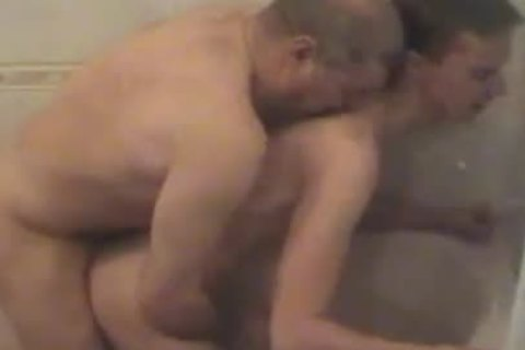 Ukranian Daddy Breeds dirty Student Next Door In bathroom