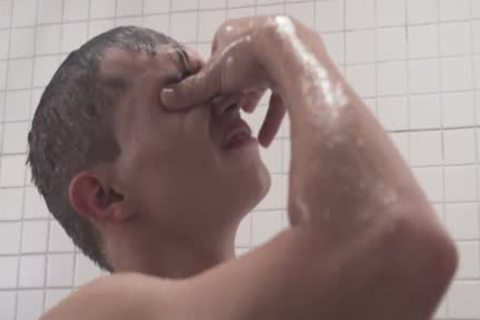 MormonBoyz - lewd Priest bangs A man's butthole In The Shower