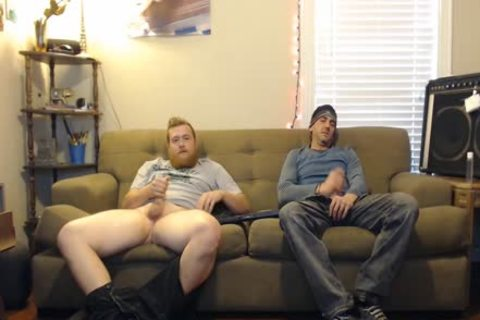 This lad told he Was Straight, But didn't action Like It When jerking off With This Other dude On Secret cam