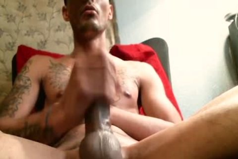 Krys Brown - Flirt4Free - tasty Hunk Jerks His penis Up Close And Personal