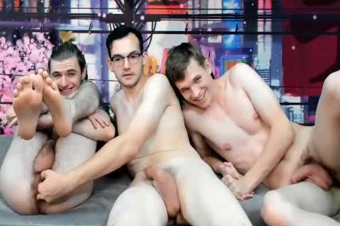 twinks Like DP Live 4at On Cruisingcams Com
