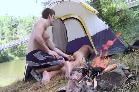nude arse Camping