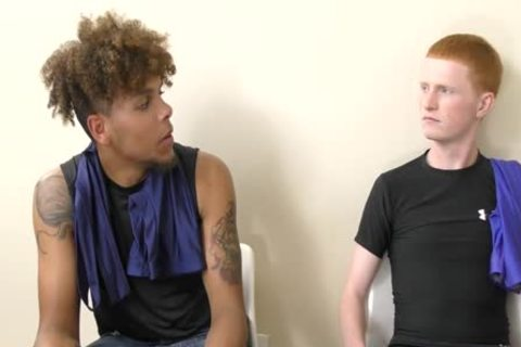Inter-racial College twink Action