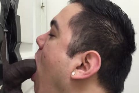 Hetero ebon chap Licked By A guy For The 1st Time darksome