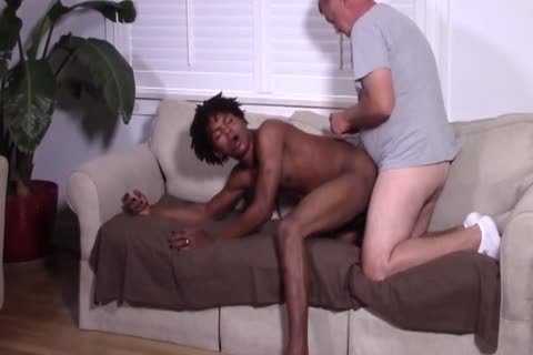 black twink Barefucked By old White man