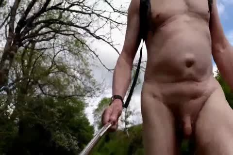 undressed Walk In A Popular Local Nature Reserve
