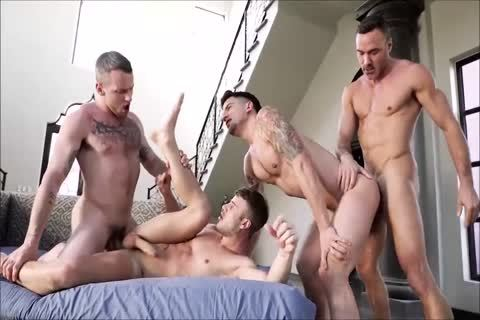 Hunks In amazing bareback fuckfest