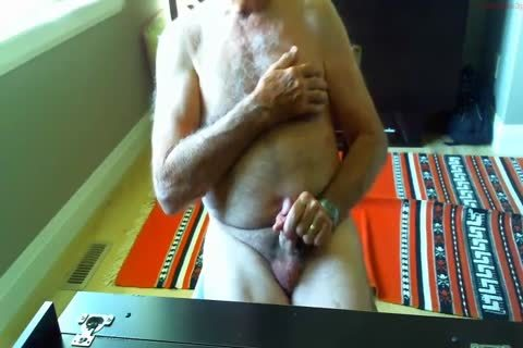 large Dicked dad wanking 003
