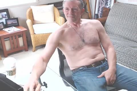 big Dicked dad stroking 002