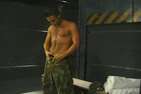 Army twinks Have A pleasure oral stimulation-stimulation Job